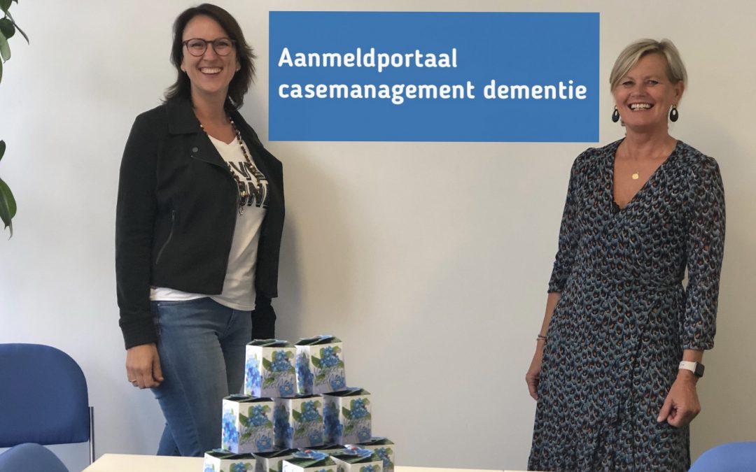 Vliegende start aanmeldportaal casemanagement dementie